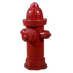 Fire Hydrant - Red