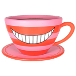 Oversized Teacup - Cheshire Cat