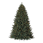 10' Green Lighted Tree