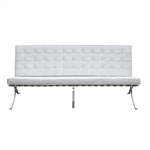 White Statler Sofa