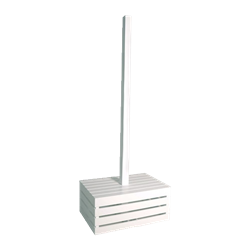 White Pole - Crate Base