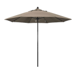 Tan Market Umbrella