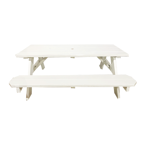 Stainless Steel Bathroom Vanity Cabinet, Picnic Table White