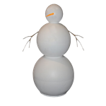 Customizable Snowman