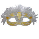 Oversized Mardi Gras Mask