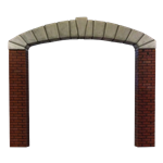Stone Arch Entrance