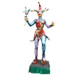 Oversized Jester Statue - Female