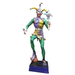 Oversized Jester Statue - Male