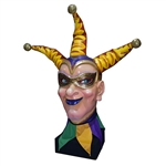 Masked Jester Head - Male