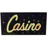 LED Casino Sign