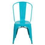 Teal Bistro Chair