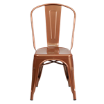 Copper Bistro Chair
