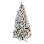 6' Flocked Lighted Tree