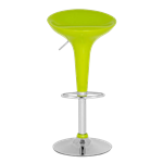 Lime Green Adjustable Height Bar Stool