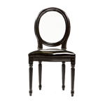 Black Louis Chair