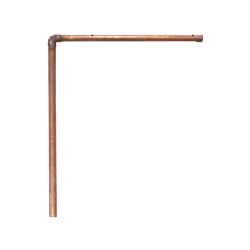 Copper Pipe Sign Holder