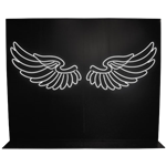 LED Angel Wings Photo Opportunity
