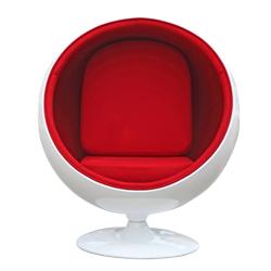 Ball Chair - Red
