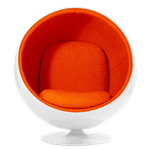 Ball Chair - Orange