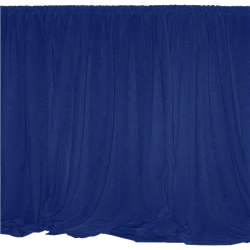 Navy Drape Panel 9' Long