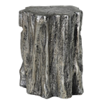 Silver Tree Stump Table/Stool