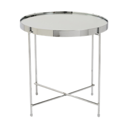 Silver Tray End Table