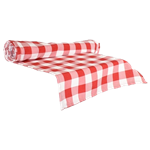 Red Gingham Table Runner