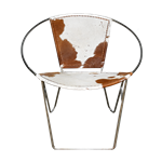 Leather Ring Chair - Cowhide