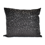 Black Sequin Pillow
