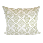 Reversible Green Trellis Pillow