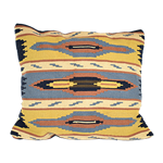 Southwest Pillow - Yellow