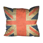 Vintage Union Jack Pillow