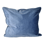 Cornflower Velvet Pillow