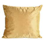 Gold Velour Pillow