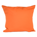 Orange Wool Pillow