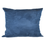 Navy Faux Suede Pillow