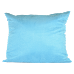 Aqua Faux Suede Pillow