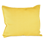Yellow Woven Pillow