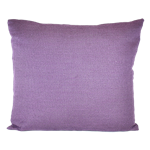 Purple Woven Pillow