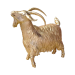 Gold Goat - Large