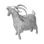 Silver Goat - Large