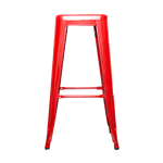 Red Bistro Bar Stool
