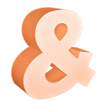 Oversized Ampersand