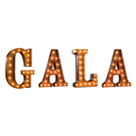 GALA Vintage Marquee Letters