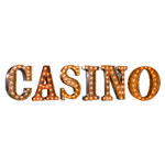 CASINO Vintage Marquee Letters
