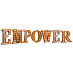 EMPOWER Vintage Marquee Letters