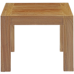 Trinity Teak End Table