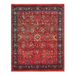 Red Traditional Rug 6' x 9'