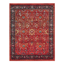 Red Traditional Rug - 8' x 10'