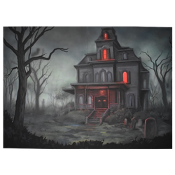 Haunted House Painting